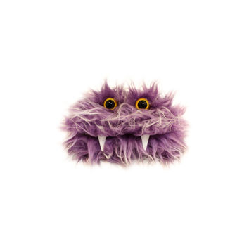 Beka the Eco-Friendly Monster - Kawaii - Purple Furry Altered Tin