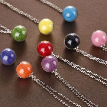 ca DCCKTM4 New Arrival Gift Shiny Jewelry Stylish Accessory Handcrafts Glass Chain Hot Sale Wool Necklace [8026328007]