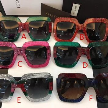 Original GUCCI Women fashion sunglasses