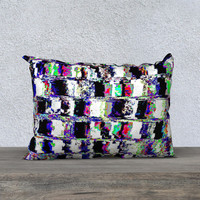 """Abstract wall 20"""" x 14"""" Pillow Case"""