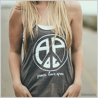 Apoc Peace Sign Women's Tank