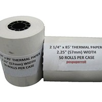 "2 1/4"" X 85' Thermal Paper (50 Rolls)"