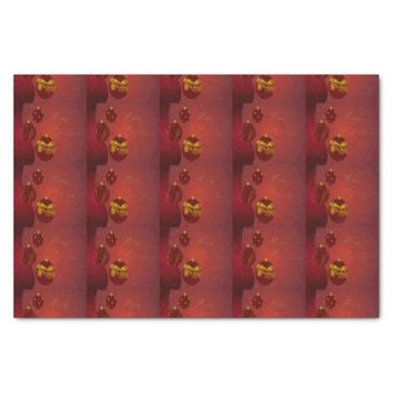 "Red Merry Christmas 10"" X 15"" Tissue Paper"