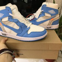 OFF-WHITE x Air Jordan 1 AQ0818-148