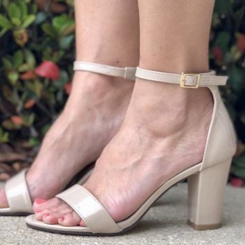 Strut Your Stuff Heel- Nude