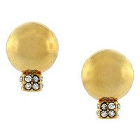 Women's Vince Camuto 'Opposites Attract' Stud Earrings - Gold