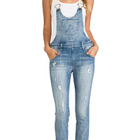 Wildfox Couture Chloe Overall in Blue