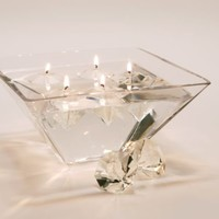 Diamond Gel Candles Set of 4 | Z Gallerie