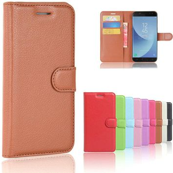 For Samsung Galaxy J5 2017 Case Cover J530 Leather Flip Case For Samsung Galaxy J5 2017 Cover For Samsung J5 2017 Case