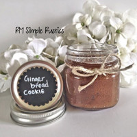 Organic Gingerbread Cookie Sugar Scrub