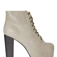Jeffrey Campbell Lita Platform Boot - Grey