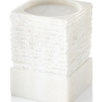 "Chiseled Pillar Candle Holder, 5"" and Matching Items & Matching Items 