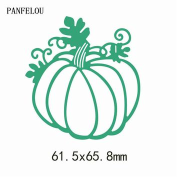 PANFELOU Christmas pumpkin vines Scrapbooking DIY album cards paper die metal craft stencils punch cuts dies cutting