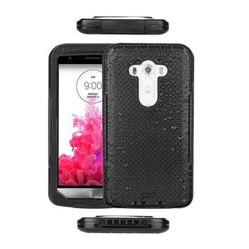 DKF4S Rugged Waterproof Dustproof ShocKproof Full Body Case Phone Cover for LG G3  Promotion
