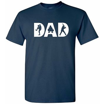 Baseball Dad T-Shirt | Unique Baseball Dad Apparel | Our T Shirt Shack