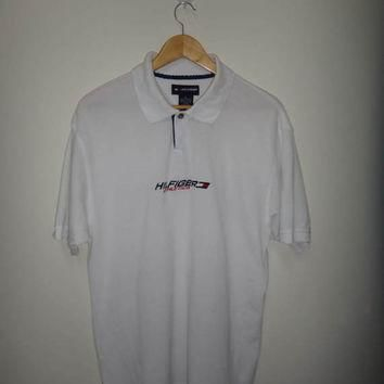 Tommy Hilfiger Athletics Polo Shirt White Tommy Sportsman
