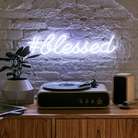 The Oliver Gal Artist Co. #Blessed LED Neon Sign | Urban Outfitters