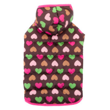 Top Paw® Hearts Puffer Coat