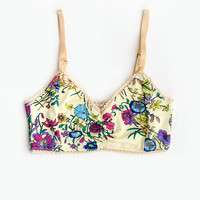 Gypsy Queen Bralette - Cream Floral | Spell & the Gypsy Collective