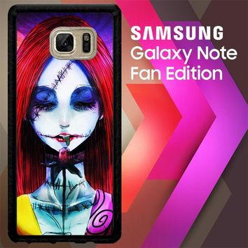 Sally The Nightmare Before Christmas Y0860 Samsung Galaxy Note FE Fan Edition Case