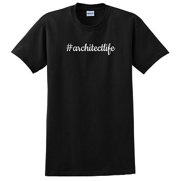 Architect life funny profession occupation best architect  T Shirt