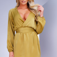 Outshine Dress - Mustard