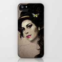 Amy Winehouse iPhone & iPod Case by Deniz Erçelebi