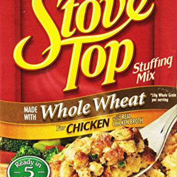 Stove Top Stuffing Mix, Chicken with Whole Wheat, 5-Ounce Units (Pack of 12)