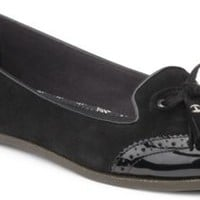 Sperry Top-Sider Harper Oxford Flat Black/Patent, Size 6M  Women's Shoes
