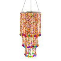 Gypsy Chandelier Multi Coloured Beads | Interior | Lighting | £39.99 - The Contemporary Home Online Shop