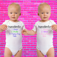 What Are Little Boys and Girls Made Of? | Twin Set Gerber Onesuit ®