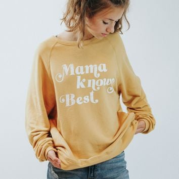 Mama Knows Best Pullover