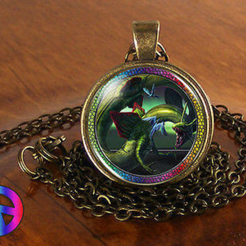 Pokemon Rayquaza Dragon Fashion Necklace Pendant Jewelry Cosplay Toy Gift Anime