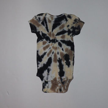 Tie Dye Baby Onesuit: Poppin' Swirl  - Choose Any Size, Style, and Colors!