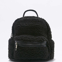 Shearling Mini Backpack - Urban Outfitters