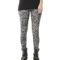 Leopard Print Ankle Legging | Shop Bottoms at Wet Seal