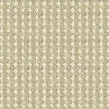 Kravet Couture Fabric 33557.106 Rare Coin Platinum