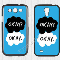 The Fault in Our Stars Samsung Galaxy S3 S4 Case,OK OKAY Galaxy S3 S4 Hard Rubber Case,cover skin Case for Galaxy S3 S4,More styles