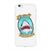 Don't Tell Me To Smile Shark -- Phone Case