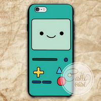 Adventure Time BMO iPhone 4/4S, 5/5S, 5C Series, Samsung Galaxy S3, Samsung Galaxy S4, Samsung Galaxy S5 - Hard Plastic, Rubber Case