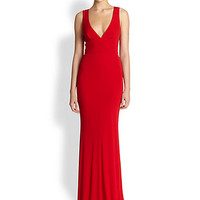 ABS - Deep V Gown