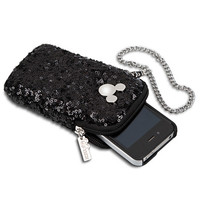 Disney Mickey Mouse Icon Sequined Smartphone Case | Disney Store