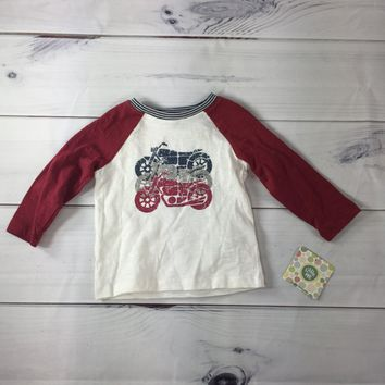 Little Me Boys Motorcycle Tee, Size 18M