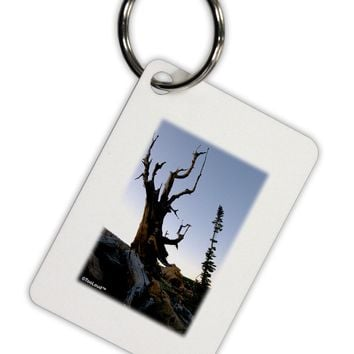Colorado Mountain Scenery Aluminum Keyring Tag by TooLoud