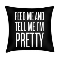 FEED ME PILLOW