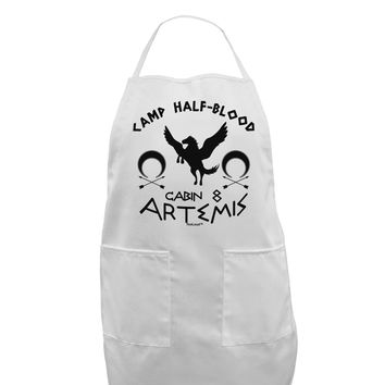 Camp Half Blood Cabin 8 Artemis Adult Apron