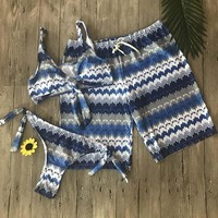 Couple swimsuit Board Shorts Swimming Trunks