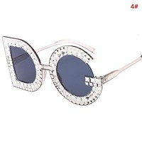 Dolce & Gabbana Fashion New Polarized Sun Protection Travel Glasses Eyeglasses Women 4#