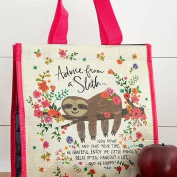Insulated Lunch Bag - Advice Sloth
