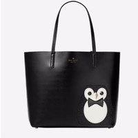 Kate Spade New York York Clifton Lane Little Len Penguin Tote